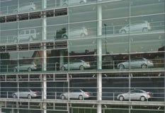 Salle d'exposition d'automobile Image libre de droits