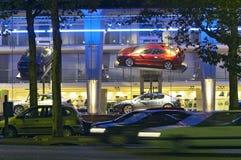 salle d'exposition de véhicules Image libre de droits