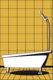 Salle de bain illustration libre de droits