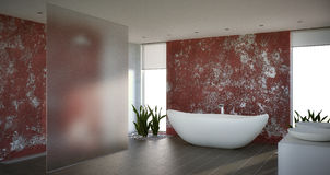 Salle de bain photo stock