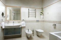 Salle de bain Photos stock