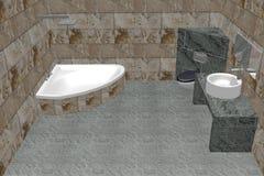 Salle de bain Images libres de droits