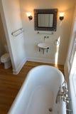 Salle de bains élégante photographie stock libre de droits