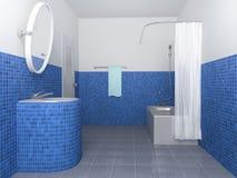 Salle de bains Images libres de droits