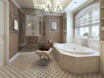 Salle de bains classique Photos libres de droits