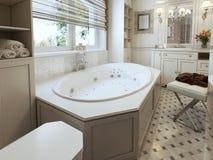 Salle de bains classique Image stock