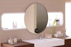 Salle de bains confortable image stock
