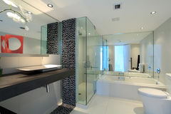 Salle de bains contemporaine photo libre de droits