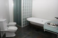 Salle de bains d'hôtel Photographie stock