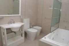 Salle de bains d'hôtel Photo stock