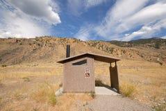 Salle de bains dans le domaine Image stock