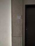 Salle de bains de couloir Photo libre de droits