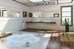 Salle de bains de luxe. Photo libre de droits