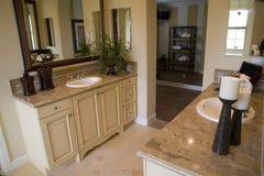 Salle de bains de luxe Images stock