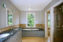 Salle de bains de luxe Photographie stock