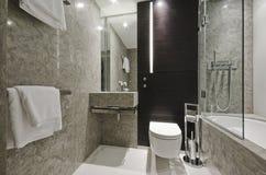 Salle de bains de marbre image stock