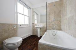 Salle de bains de marbre de luxe photos libres de droits