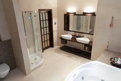 Salle de bains de ?omfortable Photographie stock