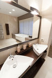 Salle de bains de ?omfortable Photos libres de droits