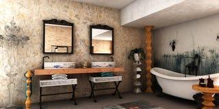 Salle de bains de station thermale Photo libre de droits