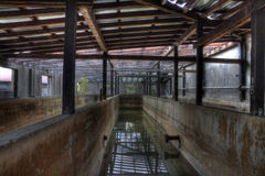 Salle de bains de Textil image libre de droits