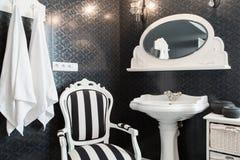 Salle de bains exagérée Photographie stock libre de droits