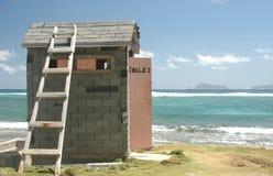 Salle de bains extérieure Photo libre de droits