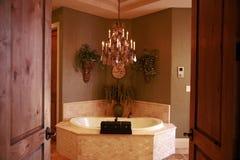 Salle de bains faite sur commande Image stock
