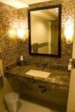 Salle de bains gentille d'hôtel Photographie stock