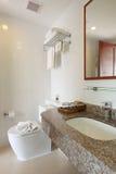 Salle de bains intérieure Image libre de droits