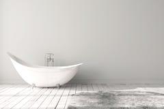 Salle de bains lumineuse vide Images stock