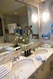 Salle de bains luxueuse Photos libres de droits