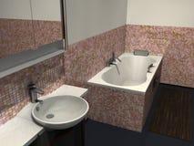 Salle de bains moderne Photos stock