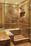 Salle de bains moderne. Photographie stock libre de droits