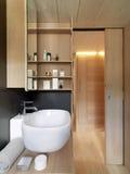 Salle de bains moderne Photographie stock libre de droits