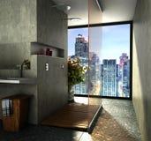 Salle de bains moderne Image libre de droits