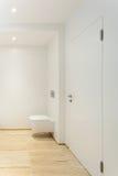 Salle de bains moderne, carte de travail Image libre de droits