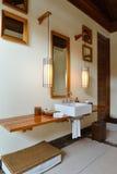 Salle de bains moderne de luxe Photo libre de droits