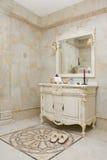 Salle de bains moderne - intérieur à la maison Photographie stock libre de droits