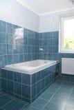 salle de bains Moitié-construite Photos stock