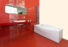 Salle de bains neuve Image libre de droits