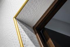 Salle de bains ou toilette intérieure moderne Matériaux de construction modernes photos stock