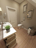 Salle de bains Provence Photo libre de droits