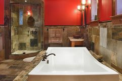 Salle de bains rêveuse Image stock