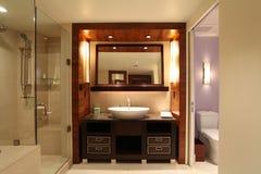 Salle de bains romantique Image libre de droits