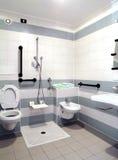Salle de bains sans entrave Images stock
