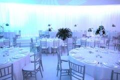 Salle de bal de mariage Images stock