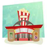 Salle de cinéma Photo libre de droits
