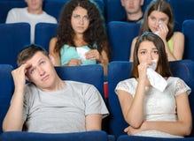 Salle de cinéma Image stock