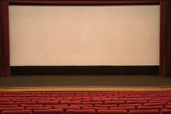 Salle de cinéma Photographie stock libre de droits